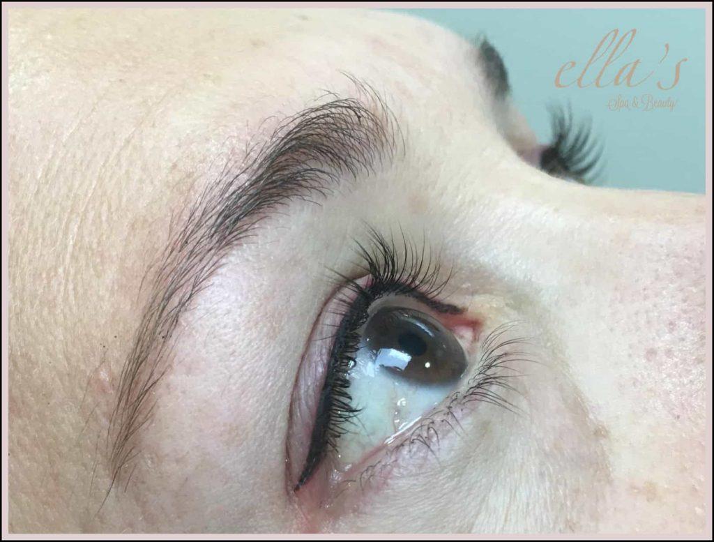 micropigmentación ojos delineado permanente Ella's Zaragoza